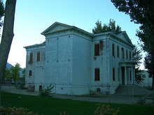 Historic 1883 Esmeralda County and Mineral County Courthouse.