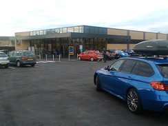 Aldi Süd in Wetherby, West Yorkshire, England.