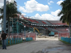 Demolition through April 7, 2008
