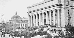Columbia University library in 1903