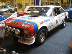 Jean-Pierre Nicolas and Jean-Claude Lefèbvre won the 26th Safari Rally driving a Peugeot 504 V6 Coupé