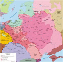 Grand Duchy of Lithuania and Kingdom of Poland before the 1569 Union of Lublin