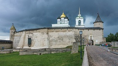 Krom (or Kremlin) in Pskov