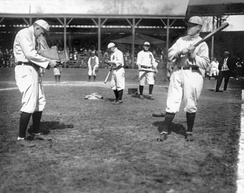 Sam Crawford and Ty Cobb, the top two players in MLB history in triples