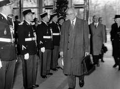On 19 March 1958, the first meeting of the European Parliamentary Assembly was held in Strasbourg under the Presidency of Robert Schuman.