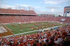 The Cotton Bowl hosts the annual Red River Showdown