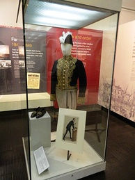 Carson's ceremonial dress uniform, worn on his appointment as Solicitor General for England in 1900.