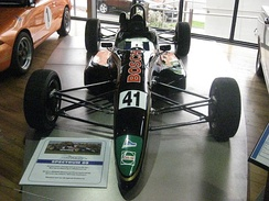 The Spectrum 09 in which Winterbottom placed 2nd in the 2002 Australian Formula Ford Championship.