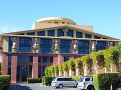 Team Disney Burbank, which houses the offices of Disney's CEO and several other senior corporate officials.