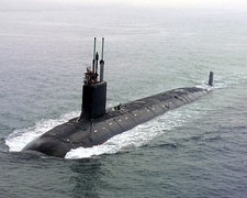 USS Virginia (SSN-774), a nuclear-powered fast attack submarine and the lead ship of her class