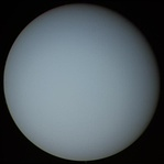 Uranus as imaged by Voyager 2 (1986)