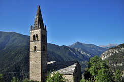 The Alps in Val Maira, Province of Cuneo