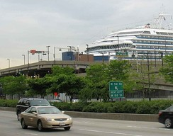 New York Passenger Ship Terminal in Hell's Kitchen at 52nd Street