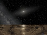 Artist's concept of the Solar System as viewed from Sedna.jpg