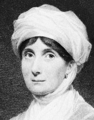 Engraving of playwright Joanna Baillie