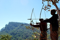 Archers in East Timor
