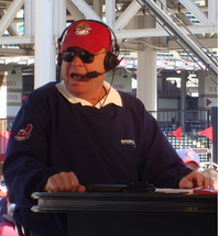 Bruce Drennan - who spent three seasons as a member of the Indians broadcast team (1980–1982)