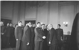 Wilhelm Pieck and the military administration members