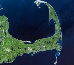 Cape Cod was formed by retreating glaciers[18]