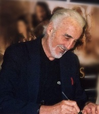 Lee at Forbidden Planet New Oxford Street, London, signing The Two Towers in January 2008