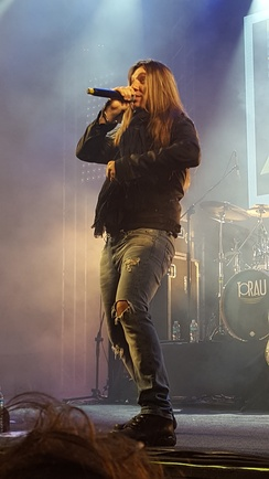 Edu Falaschi, who recorded 4 albums in Angra as lead singer