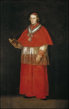 Luis María de Borbón y Vallabriga, 14th Count of Chinchón (1777-1823), Archbishop of Toledo and Primate of Spain, a liberal churchman who abolished the Spanish Inquisition in 1820. (It would be re-established in 1823.)