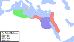 The Fatimid Caliphate at its peak