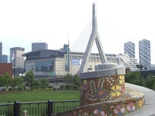 Boston's Zakim Bunker Hill Bridge is a result of the Big Dig.