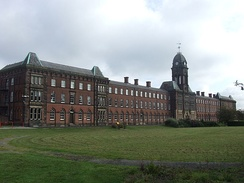 The former Fulwood Workhouse