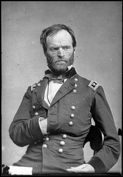 Major General Sherman, second commander of the Army of the Tennessee