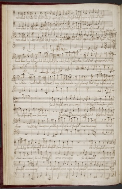 Purcell's manuscript copy of When on my sick bed I languish (c. 1680)