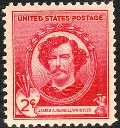 James Abbott McNeill WhistlerHonored on Issue of 1940