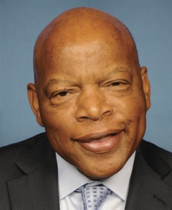 John Lewis, who was re-elected as the U.S. Representative for the 5th district