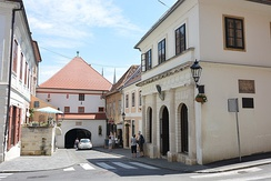 Stone Gate is the eastern gate to medieval town and Zagreb's most important shrine built between 1242 and 1266