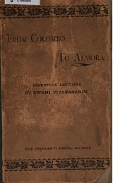 Lectures from Colombo to Almora front cover 1897 edition