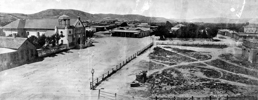 Los Angeles Plaza (1869)