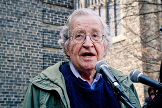 Chomsky speaking in support of the Occupy movement in 2011