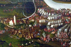 Military camp: war of the Austrian succession