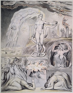 On the Morning of Christ's Nativity, by William Blake's (1809)