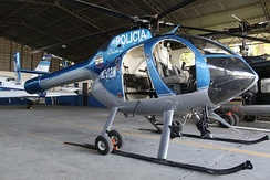 National Civil Police of El Salvador helicopter