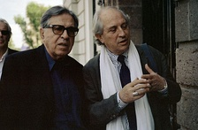 Paolo and Vittorio Taviani, winners of the Golden Bear at the festival