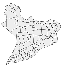 Neighborhoods of Santo Domingo.