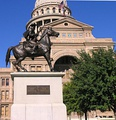 Terry's Texas Rangers Monument
