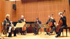 The Smithsonian Consort of Viols, a contemporary viol consort
