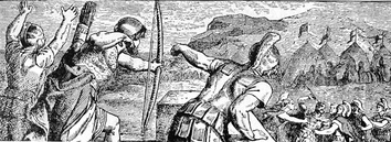 The wounding of Philip.