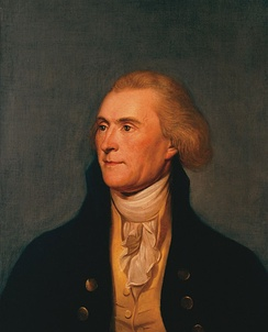 Thomas Jefferson in 1791