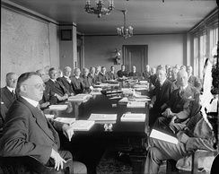 Board of Governors meeting January 1, 1922.