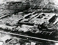Headquarter of the Imperial Japanese Army's covert biological and chemical warfare research and development Unit 731