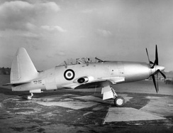 The sole Wyvern T.3, circa 1950