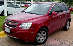 Chevrolet Captiva Sport (Mexico)